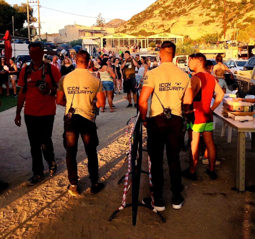 Icon Security Guard Matala